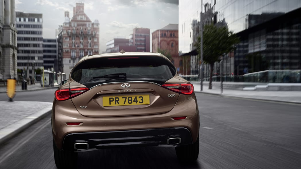 rear tail taillights infiniti q30 2017
