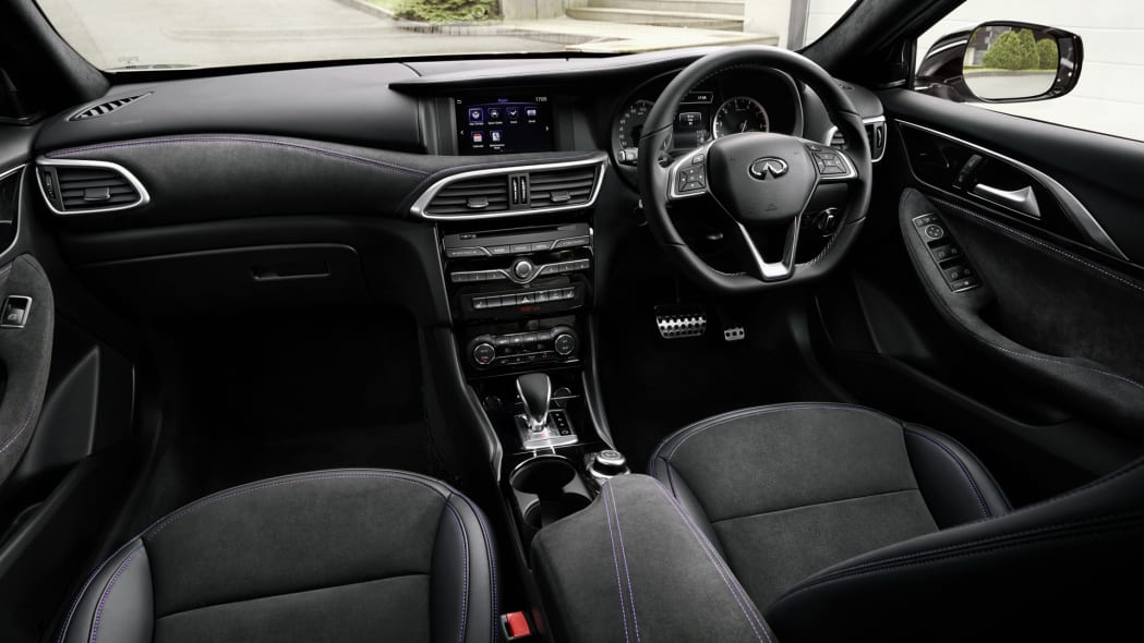 right hand drive infiniti q30 interior cabin