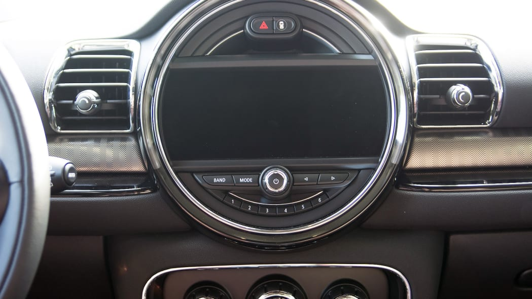 mini display connected clubman 2016 cooper s