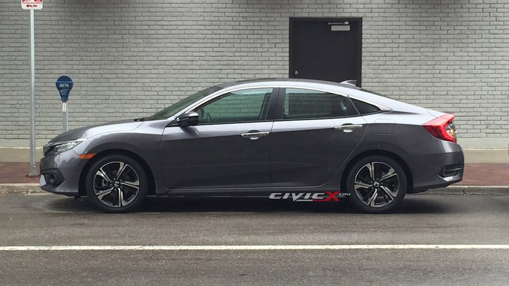 civic profile undisguised honda 2017