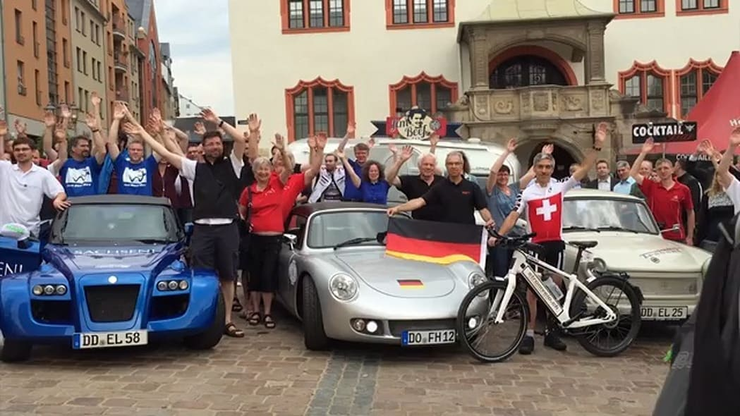 2015 WAVE Electric Vehicle Rally | On Location