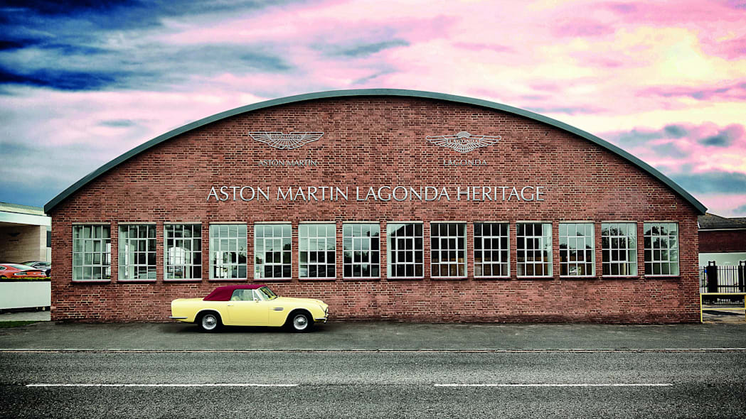 Aston Martin Works at Newport Pagnell, UK.