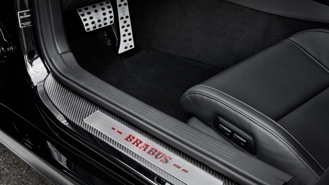 Mercedes-AMG GT S Brabus track sill plate