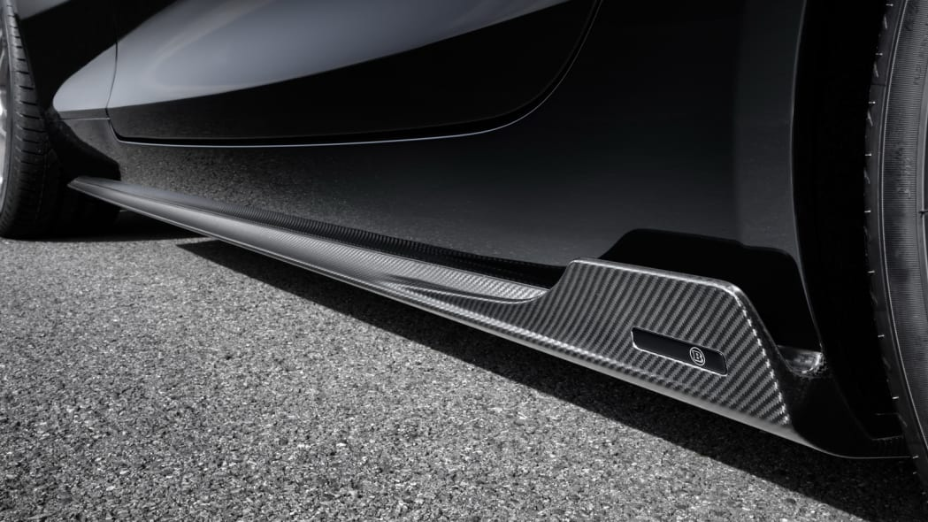 Mercedes-AMG GT S Brabus track side sill
