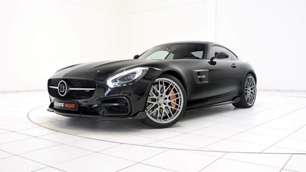 Mercedes-AMG GT by Brabus studio front 3/4