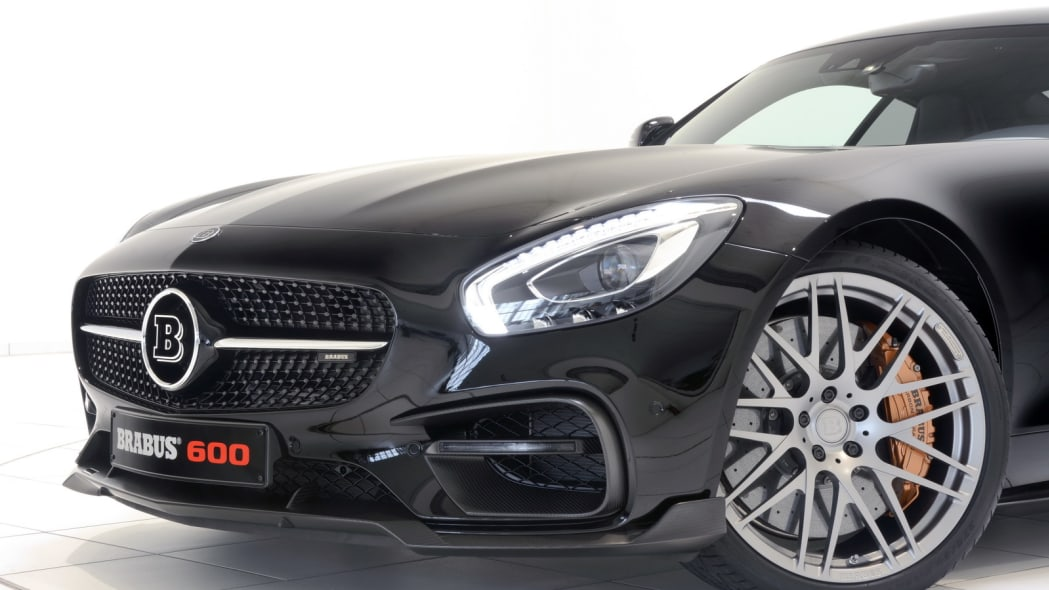 Mercedes-AMG GT by Brabus nose