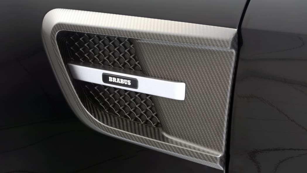 Mercedes-AMG GT by Brabus studio side vent