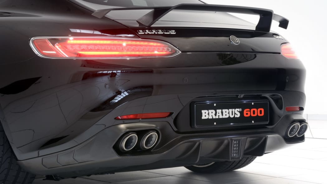 Mercedes-AMG GT by Brabus studio tail