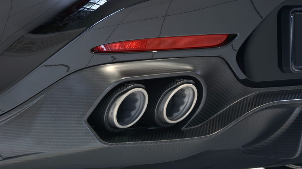 Mercedes-AMG GT by Brabus studio tailpipes
