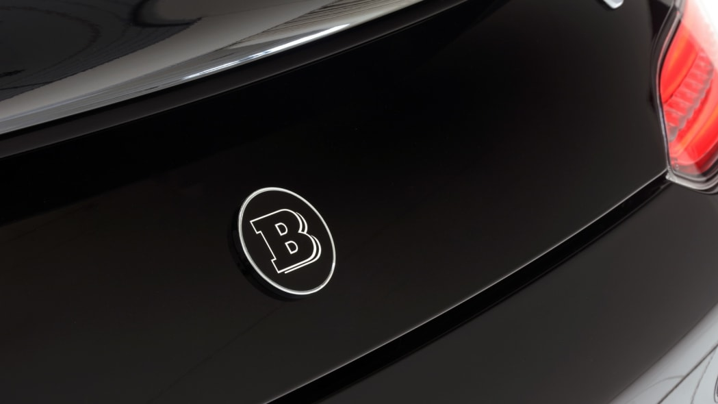 Mercedes-AMG GT by Brabus studio tail badge