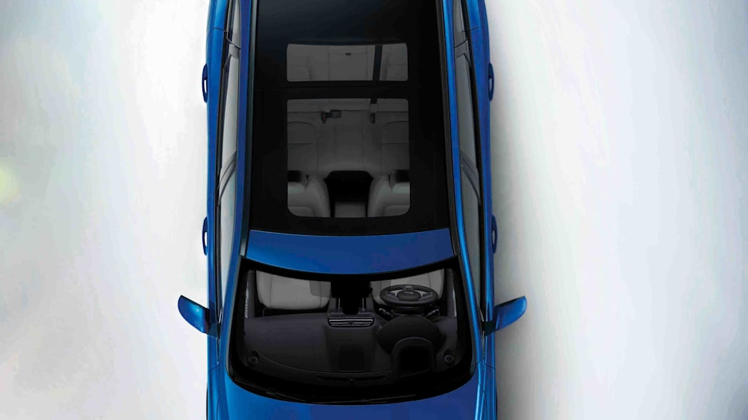 top roof panoramic sunroof jaguar f-pace