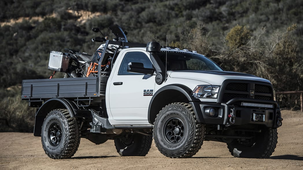 AEV Ram Prospector front 3/4 view