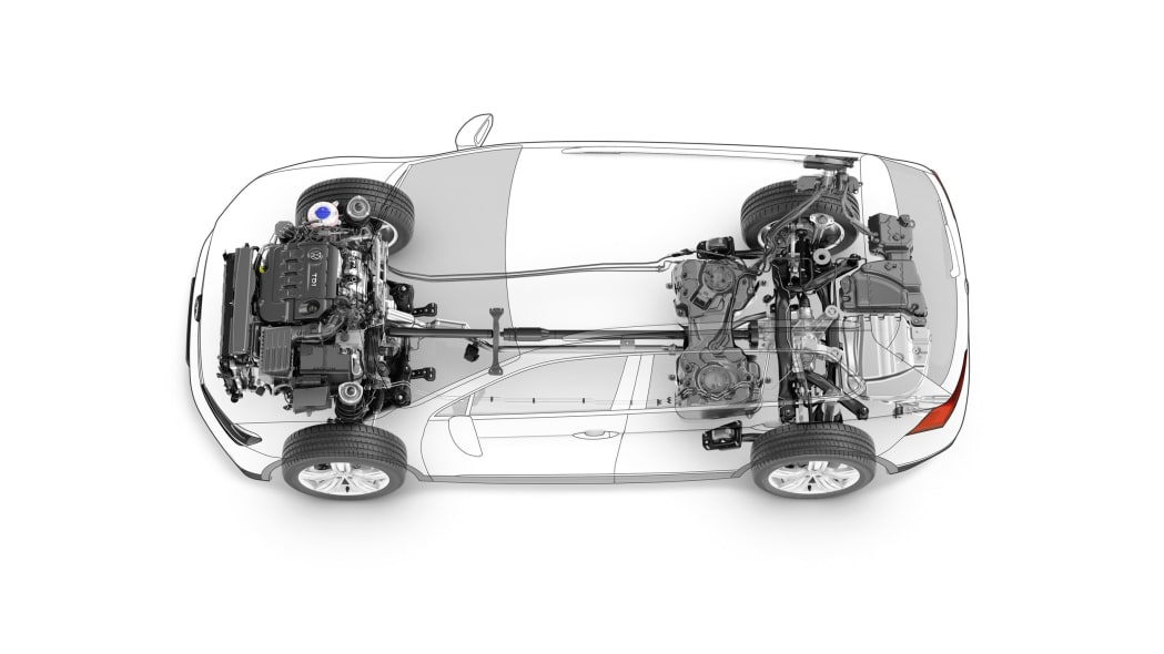vw tiguan chassis