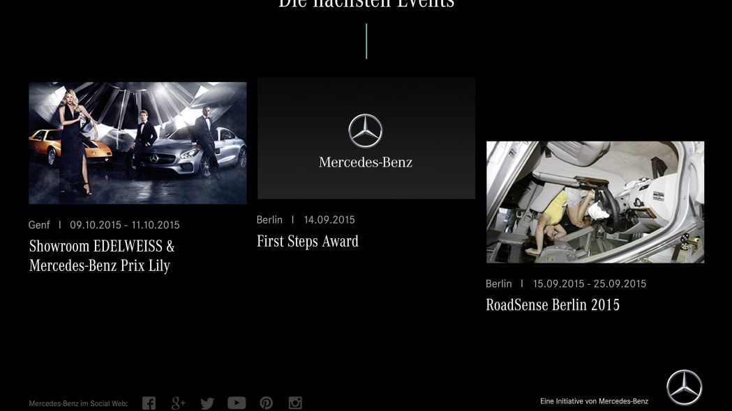 shes mercedes events