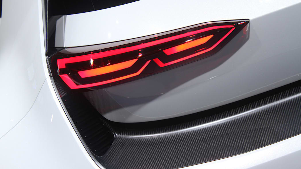 The Volkswagen Golf GTE Sport concept showed off at the 2015 Frankfurt Motor Show, taillight.