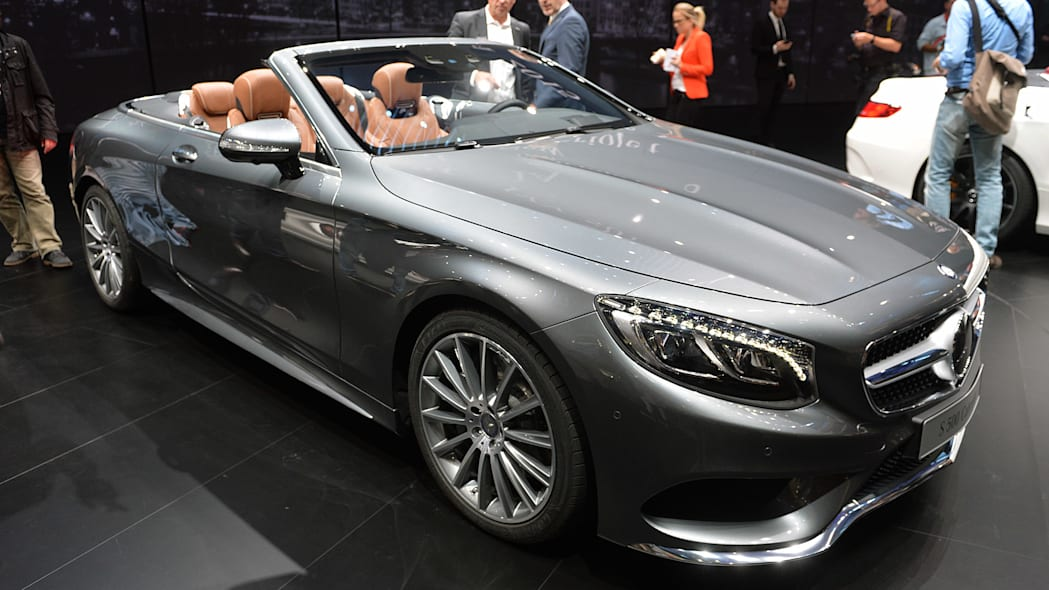 2016 Mercedes S-Class Cabriolet airs out the good life ...