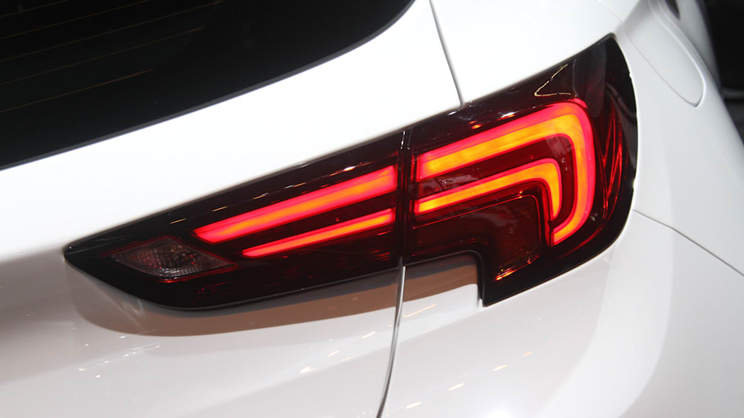The new 2016 Opel Astra at the Frankfurt Motor Show, taillight.