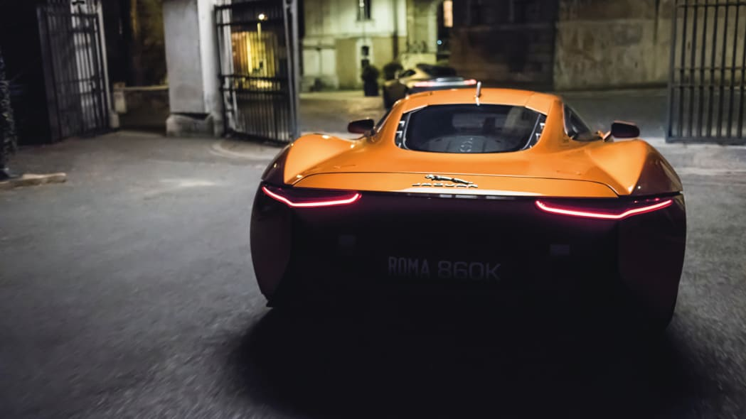 spectre jaguar bond james 007 rome spectre movie