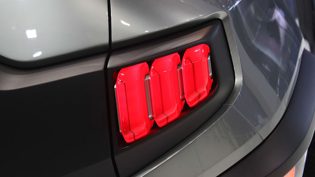 Ssangyong XAV concept unveiled at the 2015 Frankfurt Motor Show, taillight.
