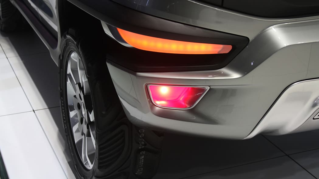 Ssangyong XAV concept unveiled at the 2015 Frankfurt Motor Show, rear light detail.