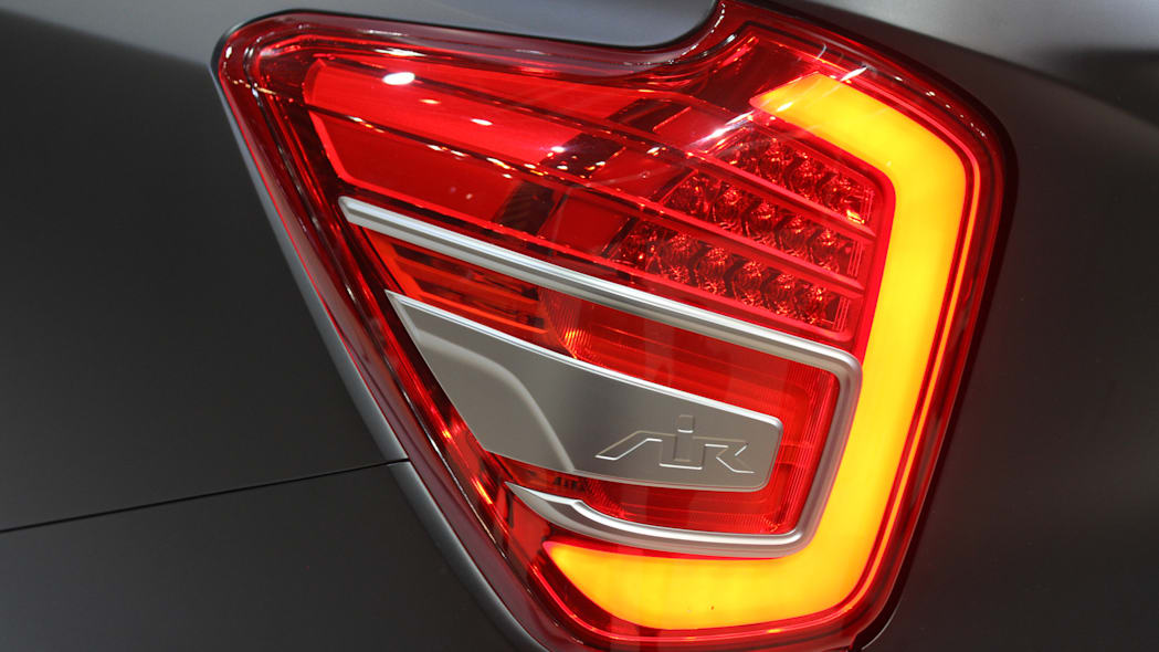 Ssangyong XLV Air concept unveiled at the 2015 Frankfurt Motor Show, taillight.