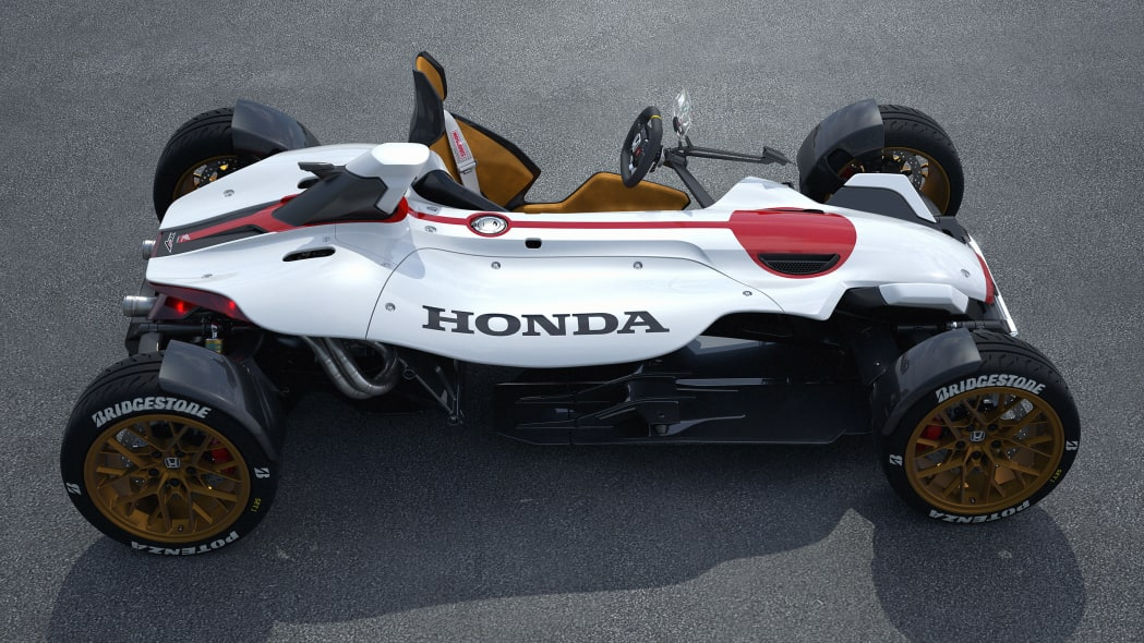 Honda Project 2&4 side above