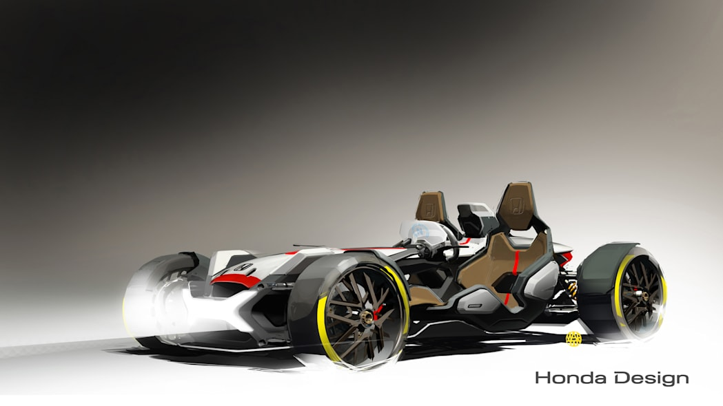 Honda Project 2&4 front 3/4 sketch
