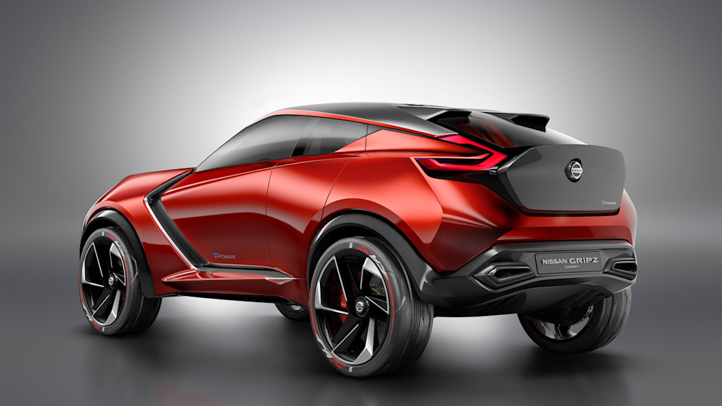 gripz crossover trunk nissan concept rear