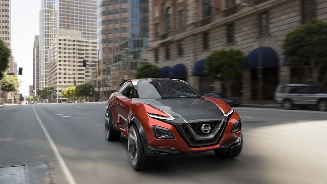 gripz concept city crossover nissan driving action
