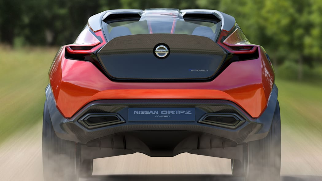 gripz concept rear trunk taillights nissan