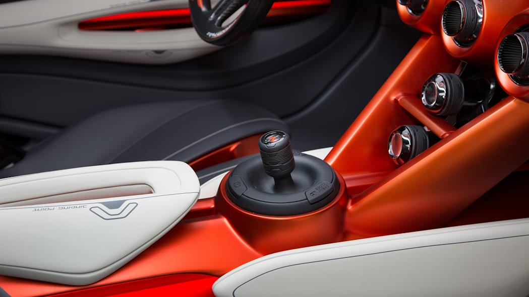 gripz shifter nissan z concept interior cabin