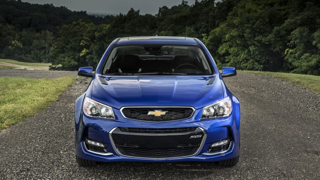 2016 Chevy SS front
