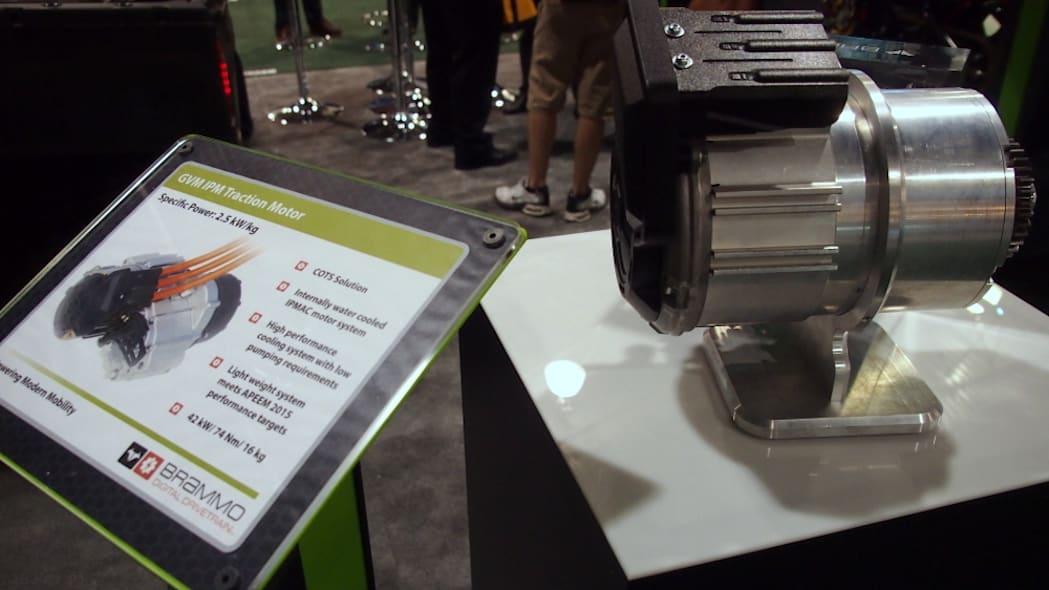 Battery Show 2015: Brammo traction motor