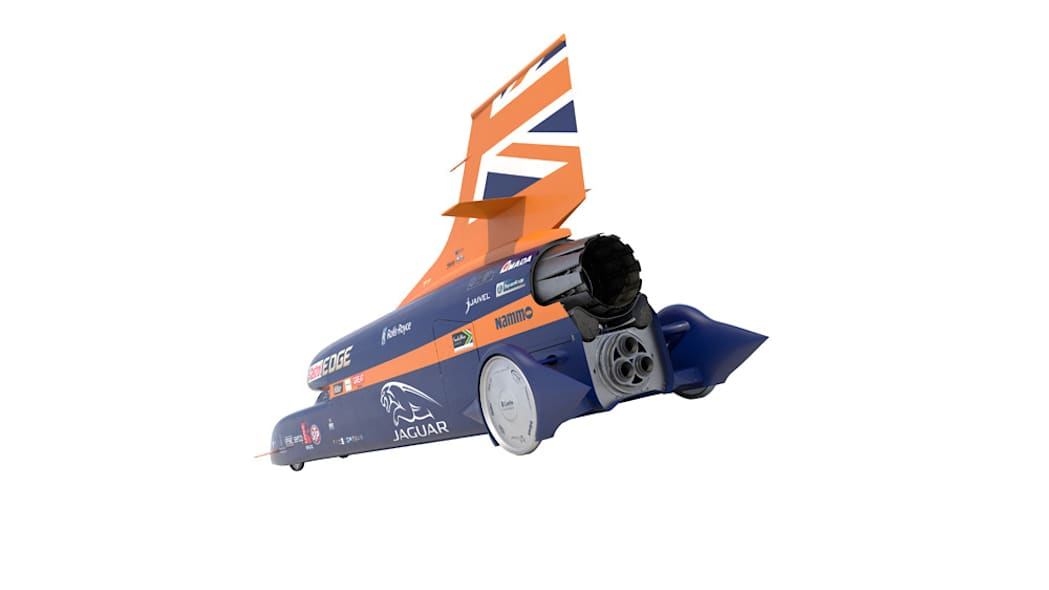 Bloodhound SSC rendering rear angle