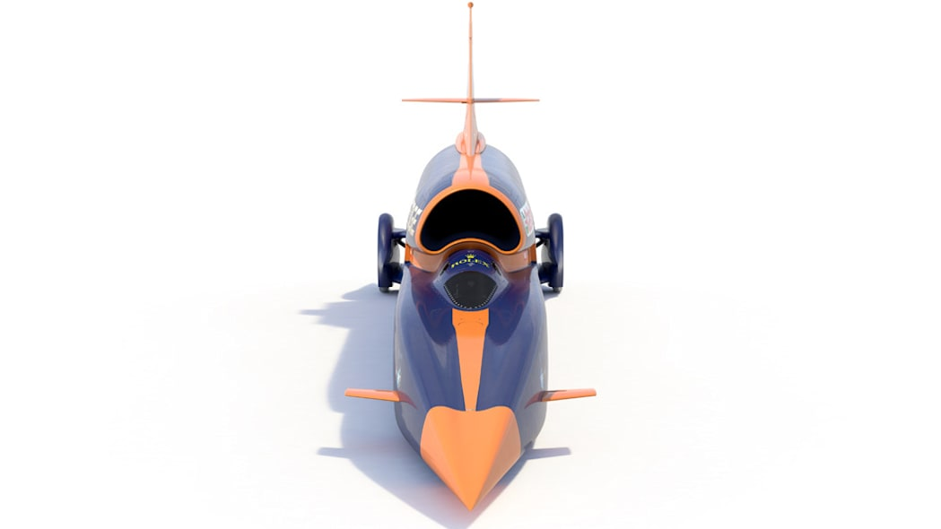Bloodhound SSC rendering front top