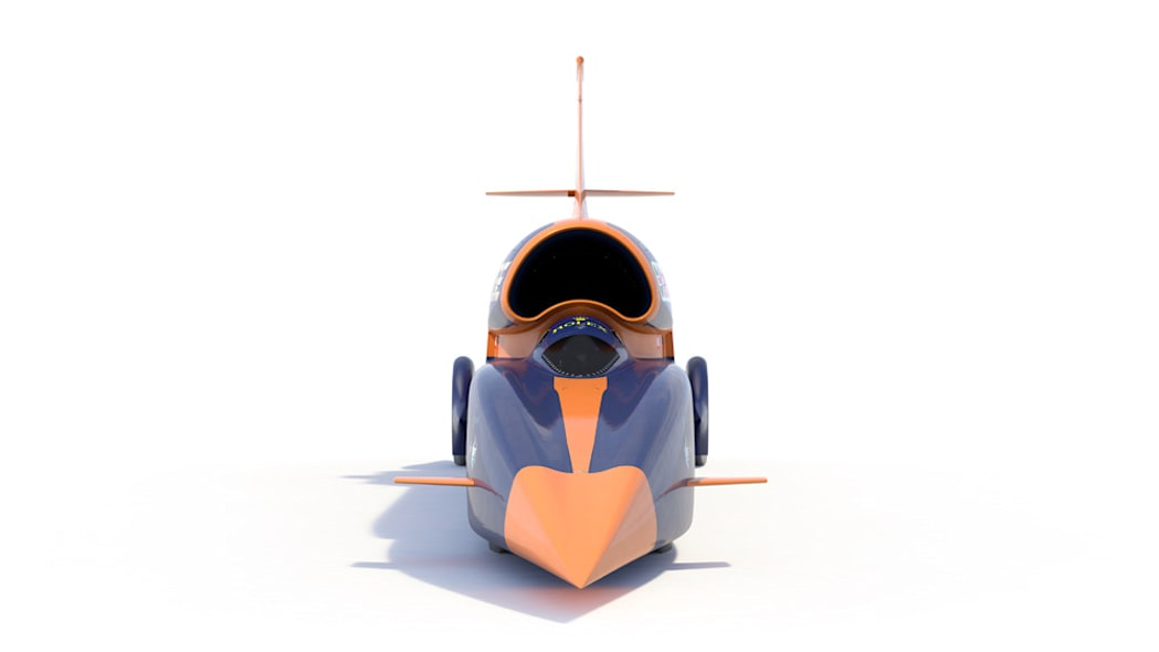 Bloodhound SSC rendering front