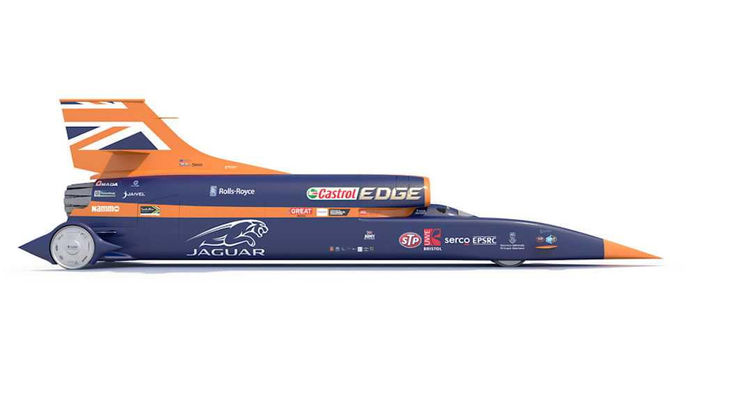Bloodhound SSC rendering right side