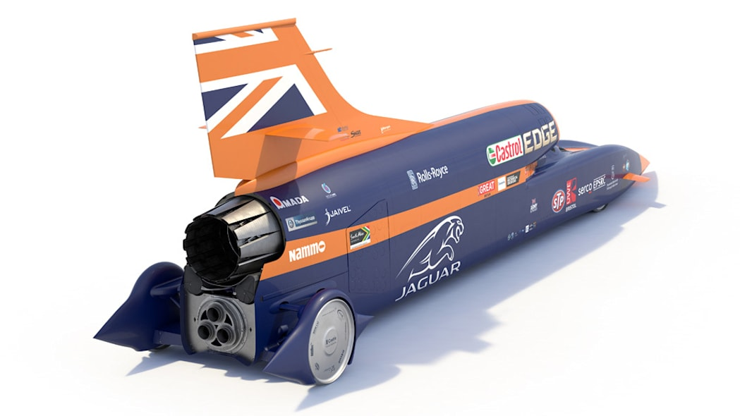 Bloodhound SSC rendering rear right top