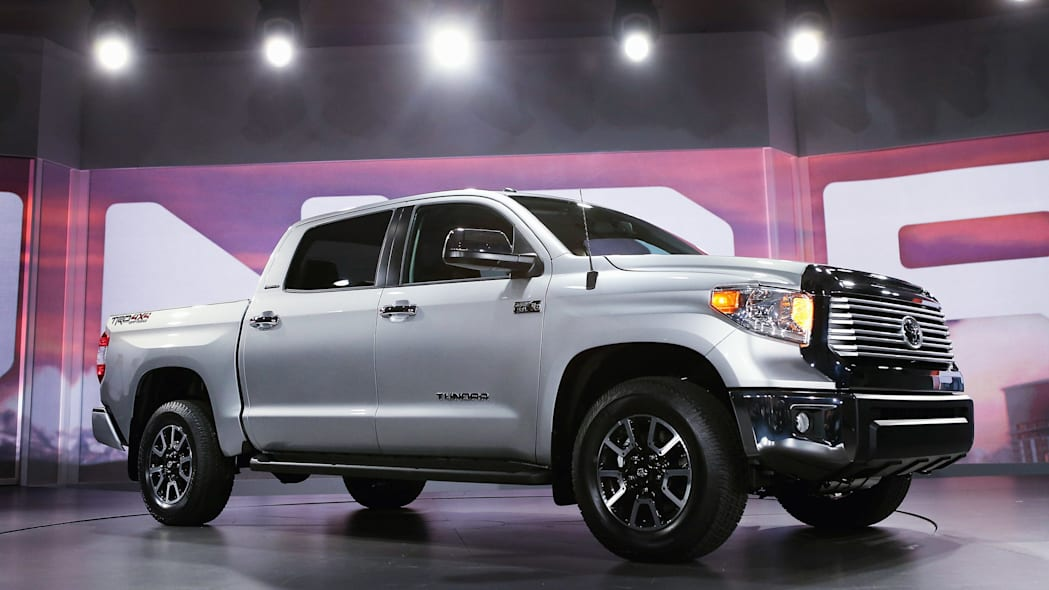 Toyota Tundra at the Chicago Auto Show