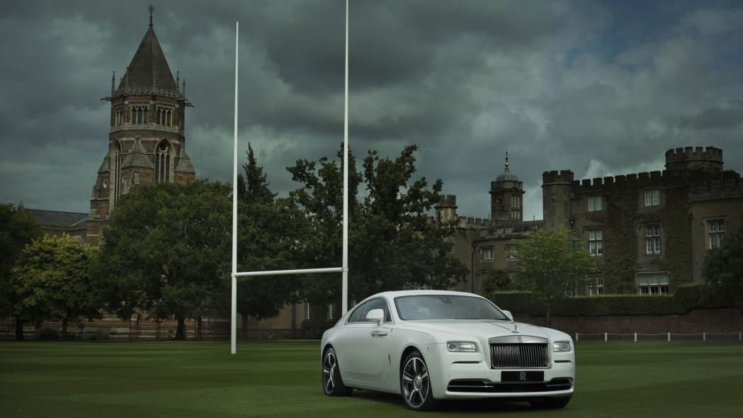 Rolls-Royce Wraith History of Rugby front 3/4