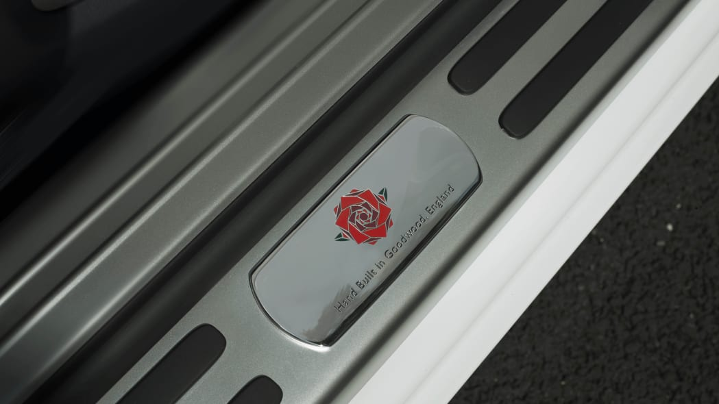 Rolls-Royce Wraith History of Rugby door sill plate