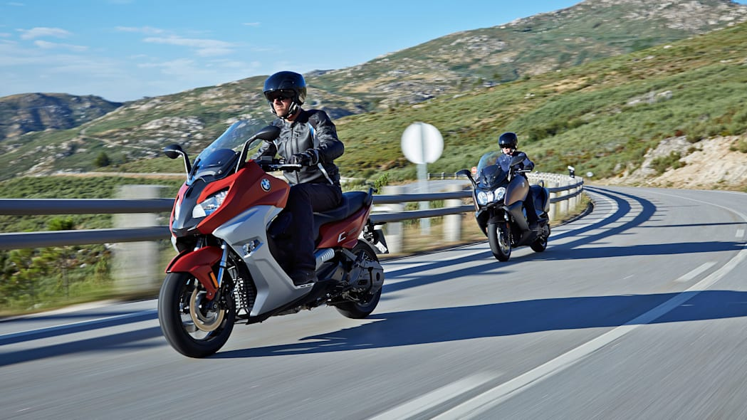 bmw c650 sport and gt together