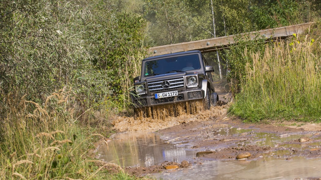 2016 Mercedes-Benz G550 can handle pretty much anything