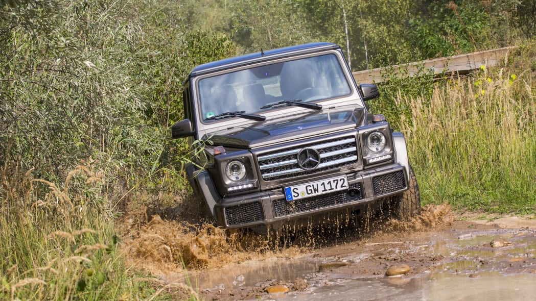 2016 Mercedes-Benz G550 loves going off road