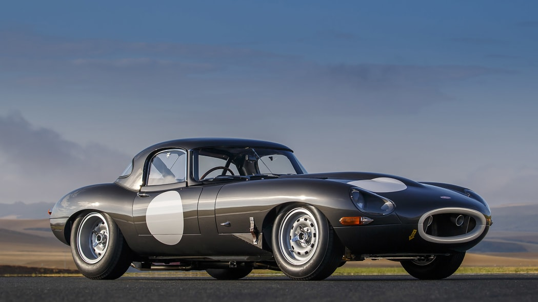 Jaguar Continuation Lightweight E-Type front 3/4 view