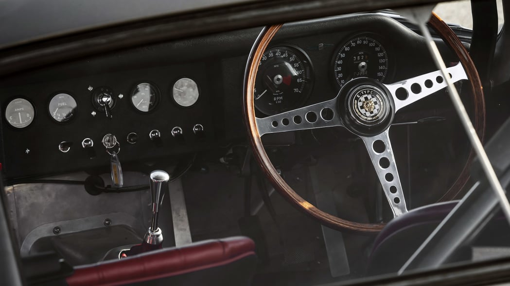 Jaguar Continuation Lightweight E-Type interior