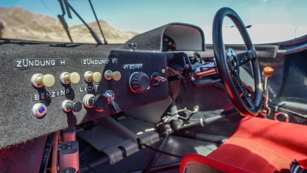 1971 Porsche 917K interior switch dashboard