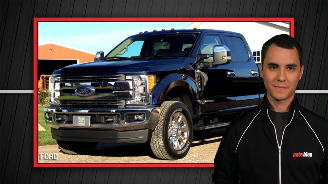 2017 Ford F-Series Super Duty Truck Reveal | Autoblog Minute