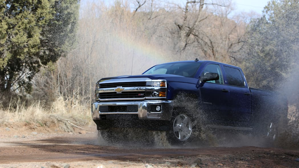 2015 Chevrolet Silverado LT 2500HD Z71 off-road