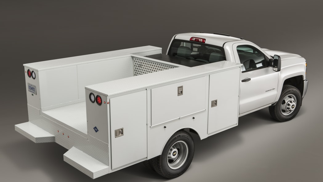 2016 Chevy Silverado 3500HD CNG rear 3/4